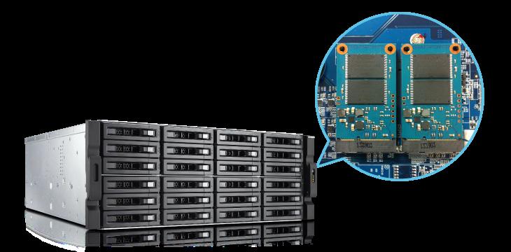 Przyspieszanie dzięki pamięci podręcznej SSD