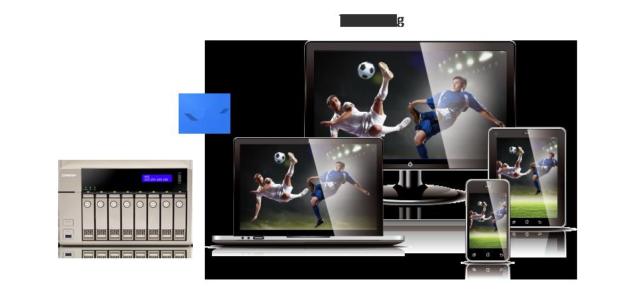 Transkodowanie wideo HD w czasie rzeczywistym i bez dostępu do sieci