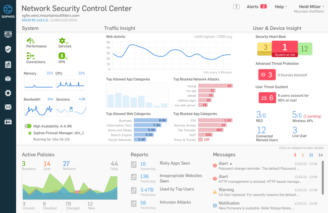 Network Security Control Center